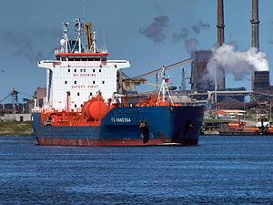 FS Vanessa IMO 9231602 at Port of Amsterdam, 2009 01.JPG