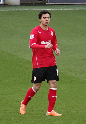 Fábio (footballer) - Fábio playing for Cardiff City in 2014