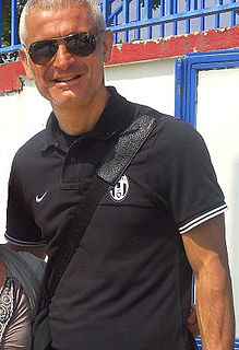 Fabrizio Ravanelli Italian football player and manager