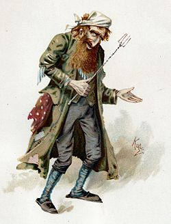 caption    = Fagin in a watercolour by 'Kyd'