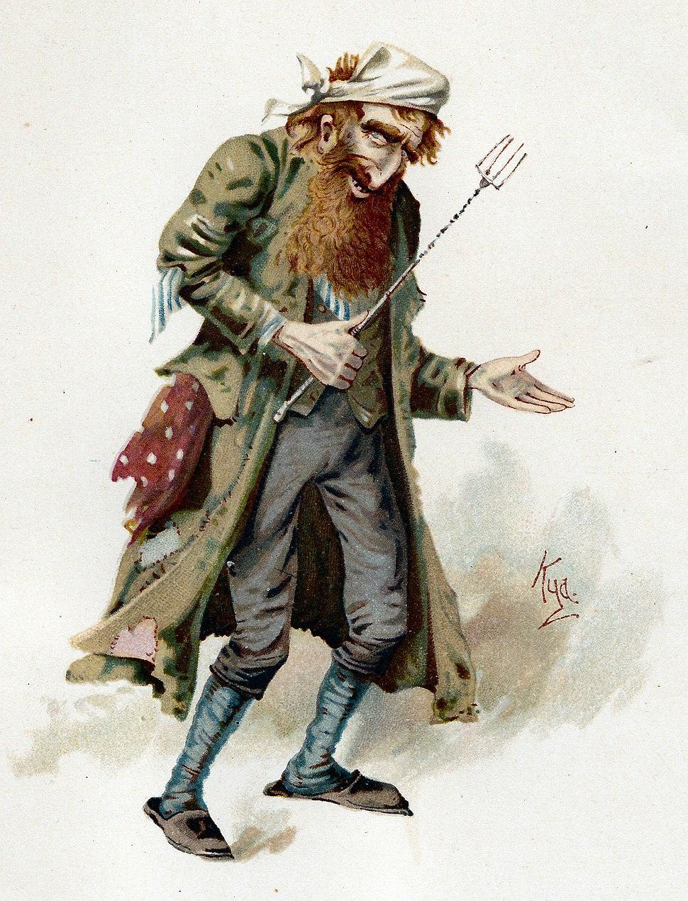 Fagin by Kyd 1889