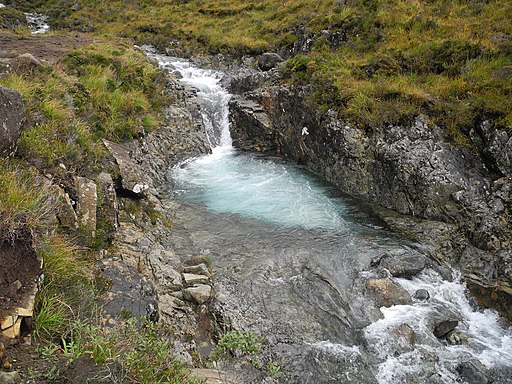 Fairy Pools, Skye, Scotland 12 (Highest pool)