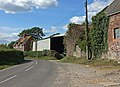 Farm buildings on the road from Duntish to Glanvilles Wootton - geograph.org.uk - 560119.jpg