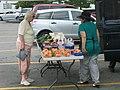 Farmers Market, Route 24, Bridgewater, July 1, 2010 (4752409339).jpg