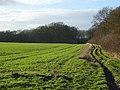 Farmland and bridleway, Pyrton - geograph.org.uk - 720450.jpg