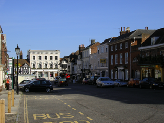 Farnham Market town in Surrey, England
