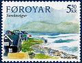 Faroe stamp 511 vagar - sandavagur.jpg