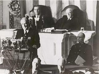 Infamy Speech December 8, 1941 speech by FDR on the bombing of Pearl Harbor