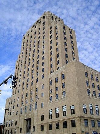 Fenn Tower - Fenn Tower on Cleveland State's main campus