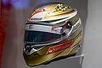 Fernando Alonso 2011 Monaco helmet front-left 2017 Museo Fernando Alonso.jpg