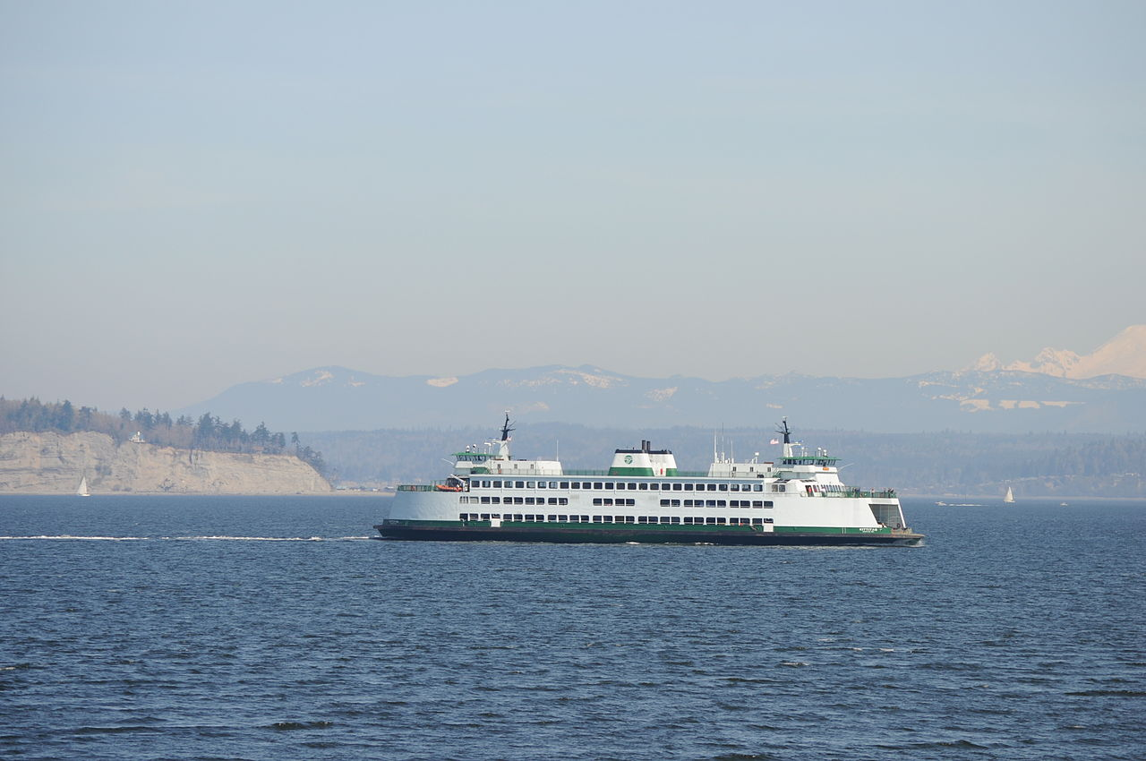 Ferry To Clinton Whidbey Island