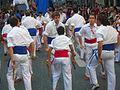 Festa Major de Gràcia 2011 - Bastoners de Barcelona - XIII cercavila de cultura popular - carrer Gran P1330071.jpg