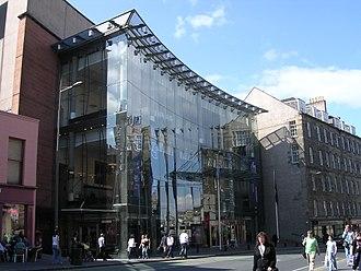 Edinburgh Festival Theatre - The Festival Theatre building on Nicolson Street in Edinburgh.