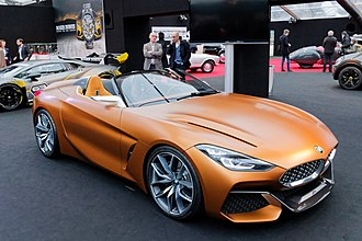 BMW Z4 (G29) - Image: Festival automobile international 2018 BMW Z4 Concept 001