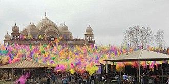 Spanish Fork, Utah - Festival of Colors at the Sri Sri Radha Krishna Temple in Spanish Fork