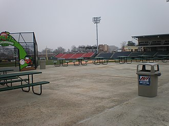 Greenville Drive - Image: Ffseats