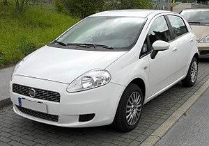 Fiat Grande Punto - Image: Fiat Grande Punto 20090906 front