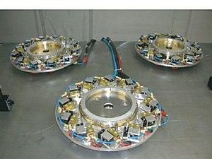 Fiber laser - 3 fiber disk lasers