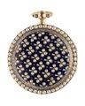 Fickur av guld med emalj och orientaliska pärlor, 1800 - Hallwylska museet - 110405.tif