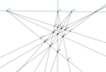 Finite projective plane PG(2,3).png