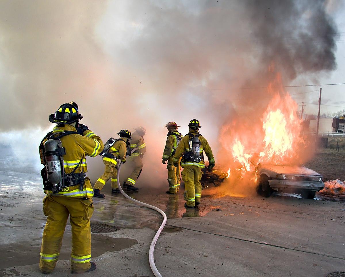 Пожаротушение Википедия