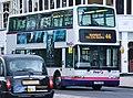 First Edinburgh bus 32228 (LT52 XAM) 2002 Volvo B7TL Transbus President, Princes Street, 12 May 2011 cropped.jpg