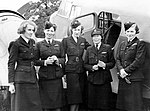 Five ATA flyers Lettice Curtis Jenny Broad Audrey Sale Barker Gabrielle Patterson and Pauline Gower.jpg