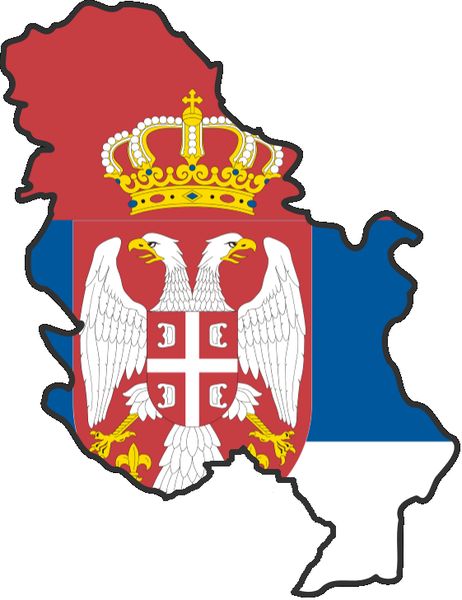 File:Flag map of Serbia (without Kosovo).png