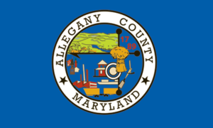 Allegany County, Maryland - Image: Flag of Allegany County, Maryland