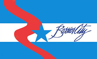 Bossier City, Louisiana - Image: Flag of Bossier City
