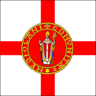 Duchy of Milan - Image: Flag of the Ambrosian Republic