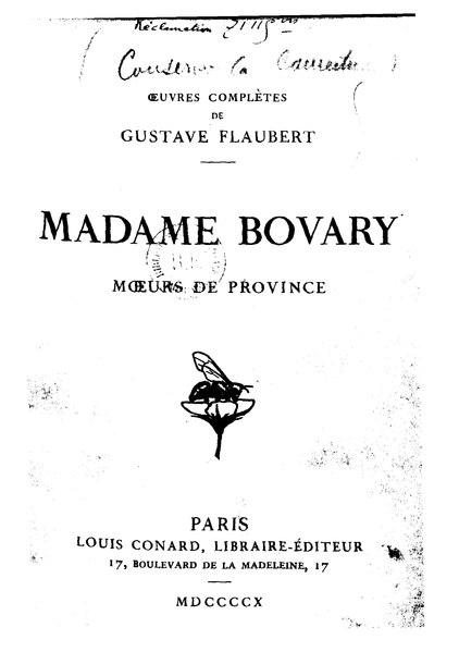 File:Flaubert - Madame Bovary, Conard, 1910.djvu
