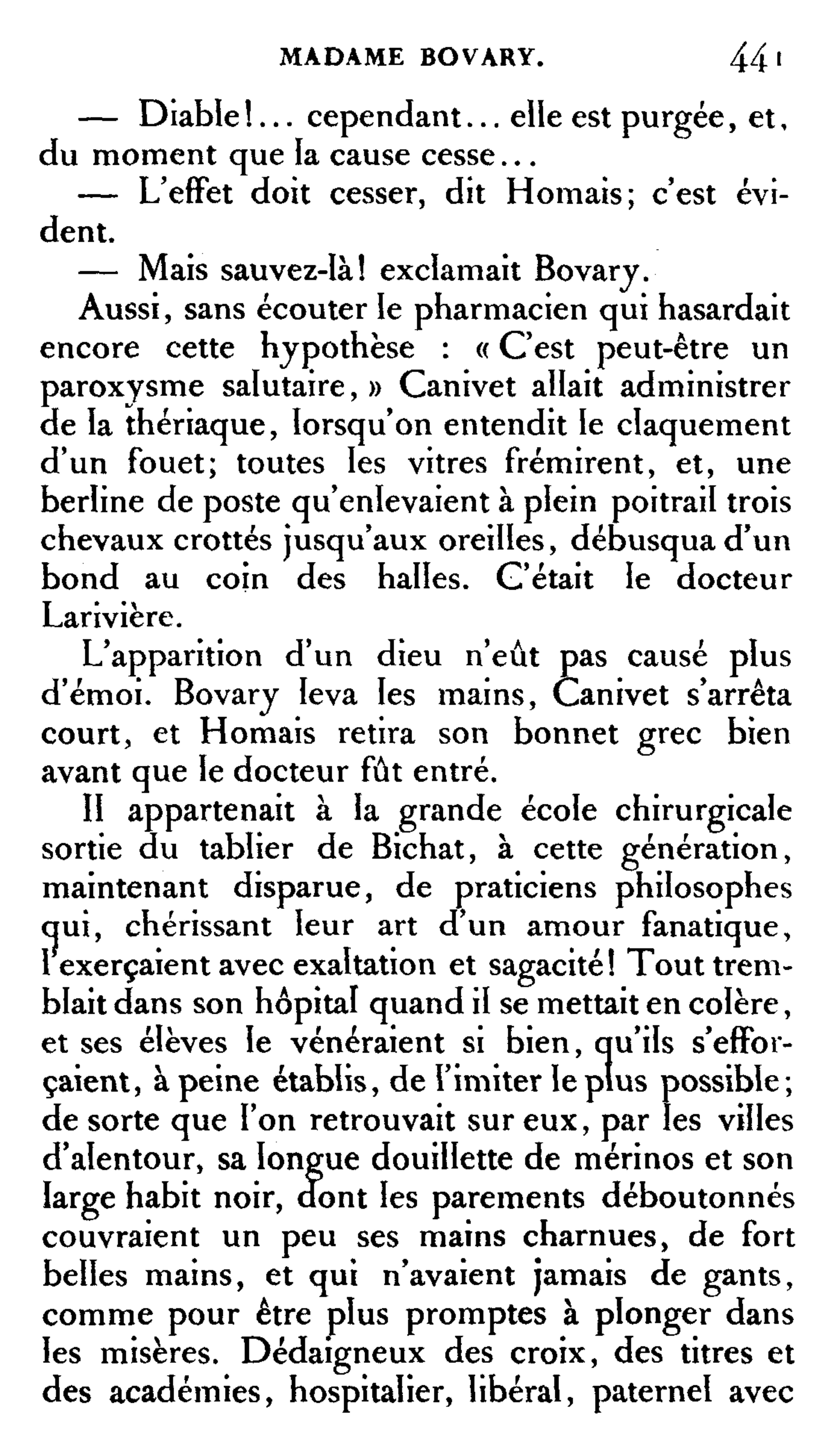 madame bovary homais An analysis of homais as an instrument of satire in flaubert's satiric novel, the story's apothecary is used to convey flaubert's views of the madame bovary.