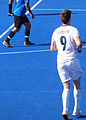Fletcher of ParalympicsGB during their 3-4 loss against Argentina (9378347772).jpg