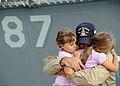 Flickr - DVIDSHUB - Hugging Their Dad Goodbye.jpg