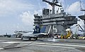 Flickr - Official U.S. Navy Imagery - A jet lands on the flight deck of USS Harry S. Truman..jpg