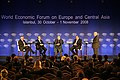 Flickr - World Economic Forum - Mottaki, Karzai, Abdulla-Janahi, Gowing - World Economic Forum Turkey 2008.jpg