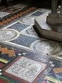 Floor tiles, St John the Baptist Church, Frome - geograph.org.uk - 867658.jpg