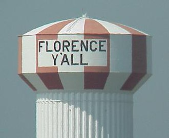 Y'all - The Florence Y'all Water Tower in Florence, Kentucky