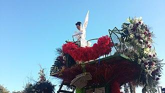 Nice Carnival - Image: Flower parade 2