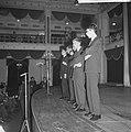 Fluxus-groep gaf Pop-art concert in Kurhaus, een van de bezoekers schoot met een, Bestanddeelnr 917-1244.jpg