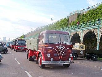 Foden Trucks - 1959 Foden S20 dropside