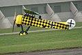 Fokker D.VIII Lt See Gotthard Sachsenberg Landing 14 Dawn Patrol NMUSAF 26Sept09 (14413339289).jpg