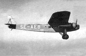 Fokker F.VIII - Image: Fokker F8 ABA