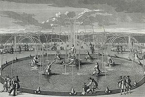 Jean Le Pautre - Jean Le Pautre, Sight of the Basin of Latone in the Gardens of Versailles, 1678
