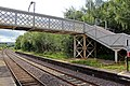 Footbridge and disused platform, Ruabon railway station (geograph 4024499).jpg