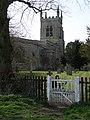 Footpath gate near Riseley Church - geograph.org.uk - 1805021.jpg