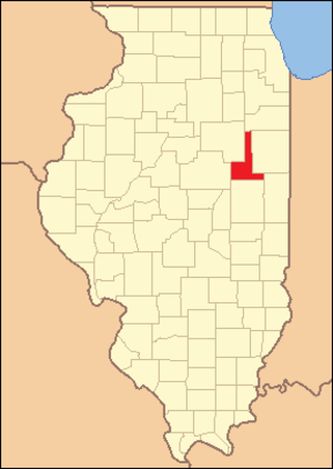 Ford County, Illinois - Image: Ford County Illinois 1859
