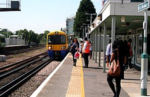 Forest Hill railway station - Image: Forest Hill Station geograph.org.uk 1930361