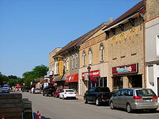 Forest, Ontario community in Lambton Shores, Ontario